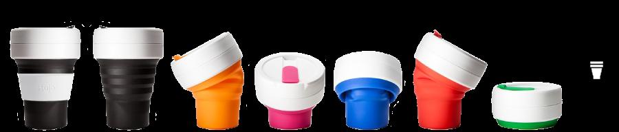 Copo Reutilizável Stojo Biggie Cup
