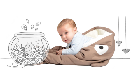saco de dormir para bebés Baby Bites