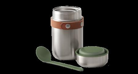 detalhe Marmita Térmica Food Flask